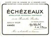 Pinot Noir, 2007. Echezeaux
