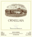 Super Tuscan, 2008. Ornellaia