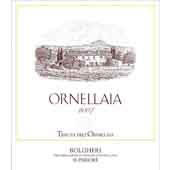 Super Tuscan, 2007. Ornellaia
