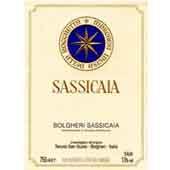 Super Tuscan, 2008. Sassicaia