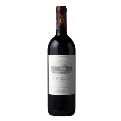 Red Wine, 2012. Ornellaia Super Tuscan
