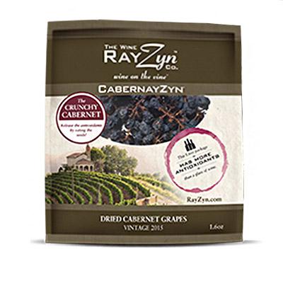 Cabernayzyn. Cabernet Grapes, 2015 3 Pack (1.6 oz)
