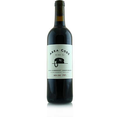 Cabernet Sauvignon, 2012. Area Code Wine Co.