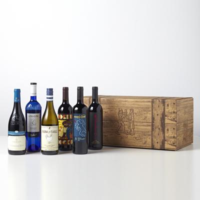 6 Bottle Wine Assortments