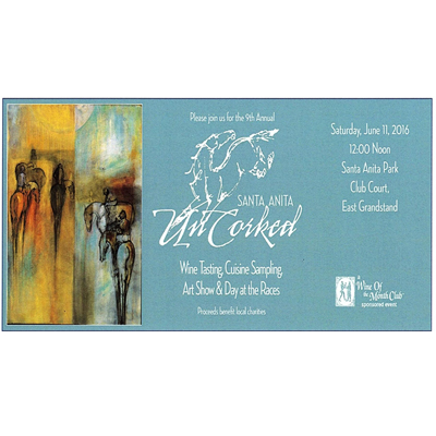 Santa Anita Uncorked Tasting Event 2016 (Adult 21 and over)
